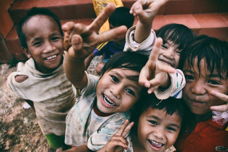 niños solidarios